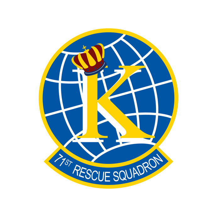 71st Rescue Squadron Patch - Wall Decal - Variety of Sizes Available