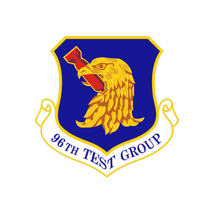 96th Test Group Squadron Patch - Wall Decal - Variety of Sizes Available