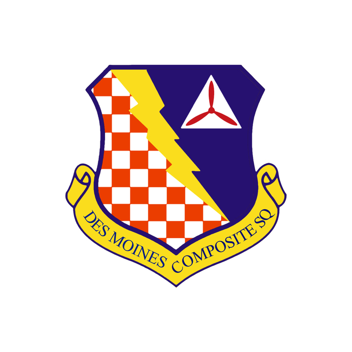 Des Moines Composite Squadron Patch - Wall Decal - Variety of Sizes Available