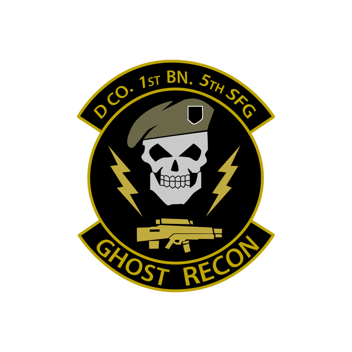 Ghost Recon Squadron Patch - Wall Decal - Variety of Sizes Available