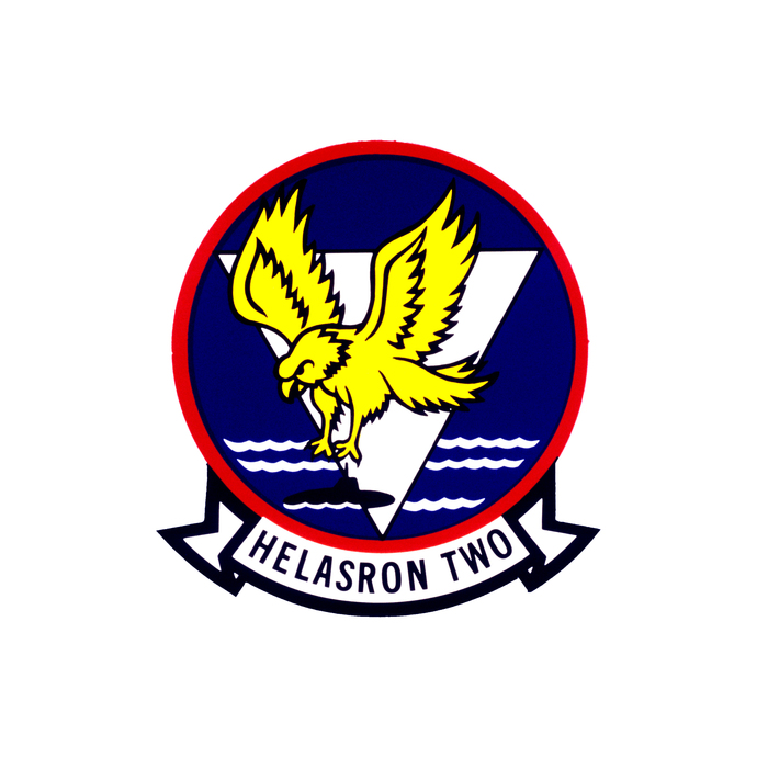 Helicopter Anti-Submarine Squadron Patch Version 2- Wall Decal - Variety of