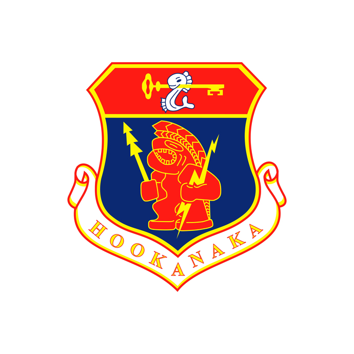 Hookanaka Squadron Patch - Wall Decal - Variety of Sizes Available