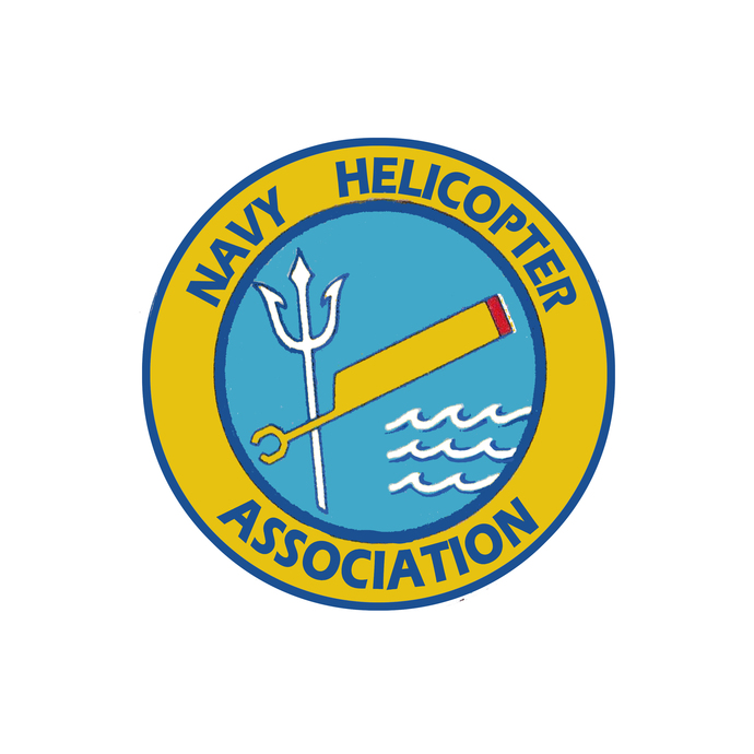 Navy Helicopter Association Patch - Wall Decal - Variety of Sizes Available