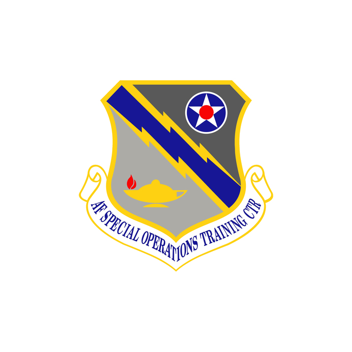 USAF Special Operations Training Center Patch - Wall Decal - Variety of Sizes