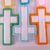 Christian Cross Ornament Set of 6