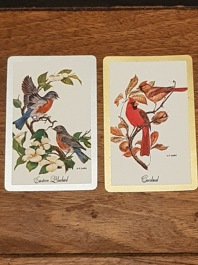 Vintage playing cards (2)