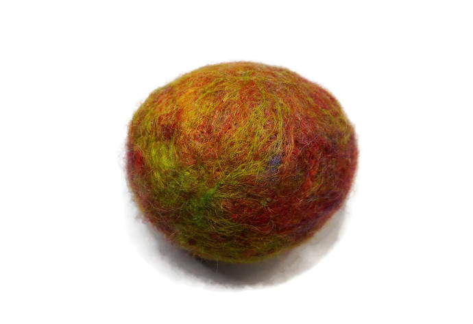 Hand Made Cat Toys - All Natural Catnip Toys - Pure Wool and Catnip - Colourful