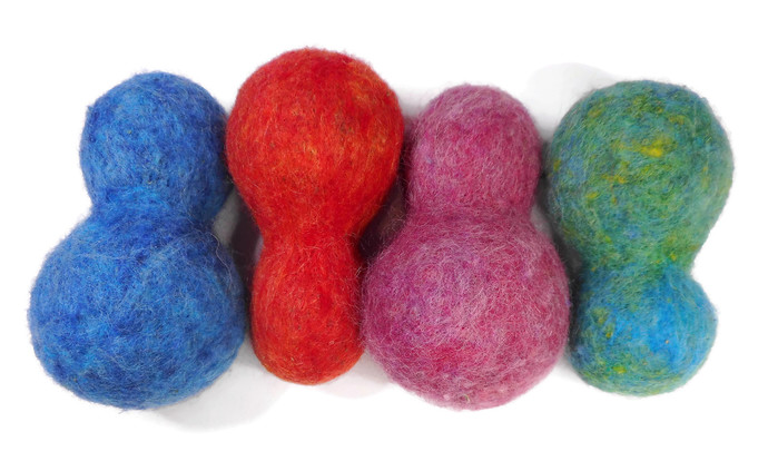 Hand Made Cat Toys - All Natural Catnip Toys - Pure Wool and Catnip - CatNip