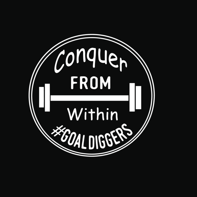Conquer from within goal diggers svg, Goal diggers svg, png,dxf,eps file for