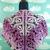 Purple Ombre Skull Shawl