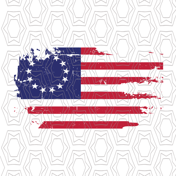 Betsy Ross Flag svg, Betsy Ross Flag 1776 svg, American flag sv,g USA flag cut