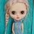 Blythe custom by Olga Kamenetskaya with alpaca rerooted scalp
