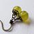Tangy Lemon Drops  Vintage Style Earrings