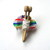 Knitter's Pin Brooch Free US Shipping