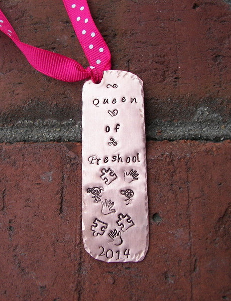 Custom book mark, Handstamped bookmark, hand stamped jewelry, book mark,