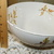 Autum Leaf Hand Decorated Bowl with Leaves and Acorn, Fall Bowl, Vintage Fall
