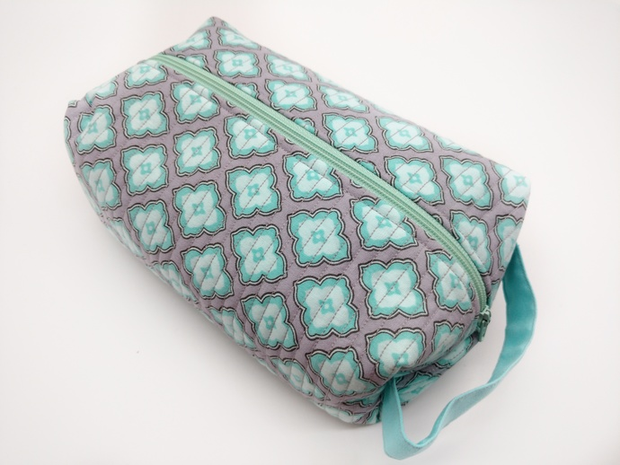 Fabric Toiletry Travel Case, Bridal Shower Gift, Toiletry Organizer, Honeymoon
