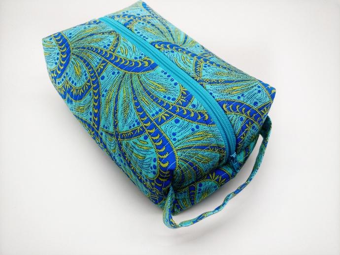 Fabric Toiletry Tote Bag, Honeymoon Toiletry Tote, Make Up Bag, Bridal Shower