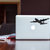 USAF C-130J Super Hercules Plane - Vinyl Wall Decal - Various Sizes Available