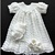 Baby Girl Coming Home/Baptistm/Christening Outfit with Bonnet, Booties, and Slip