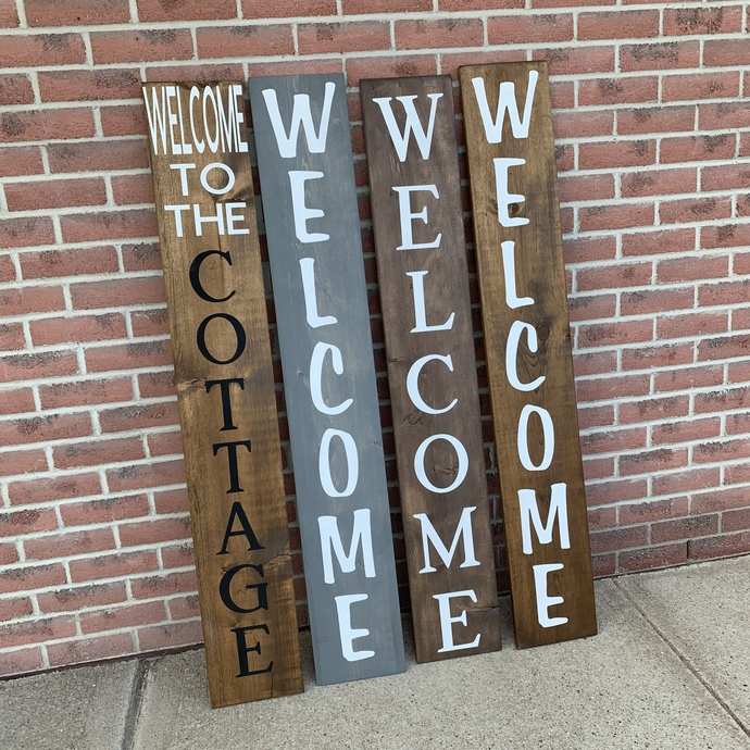 DIY- Daily or Nightly Porch Sign