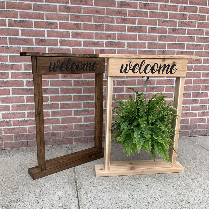 DIY- Daily or Nightly Plant Stand
