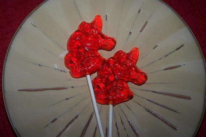 10 Unicorn Lollipop Party Favor