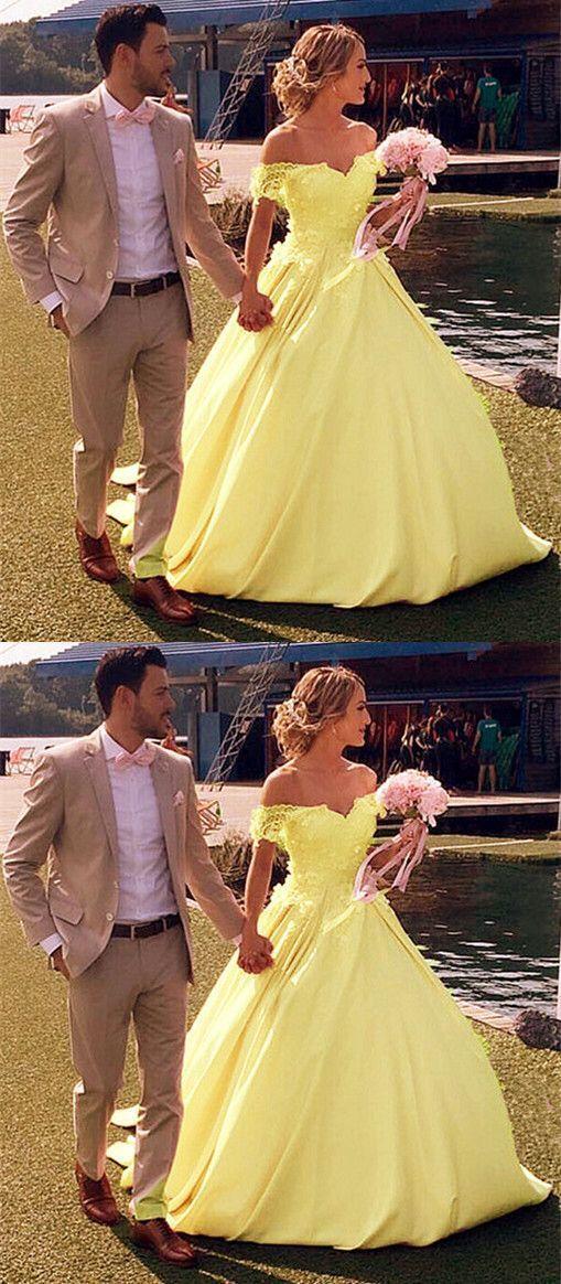 Yellow Quinceanera Dress Ball Gowns Princess Meetbeauty