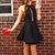 Sexy Sleeveless Mini Party Dress, Black Short Cocktail Dress, Simple Prom Dress