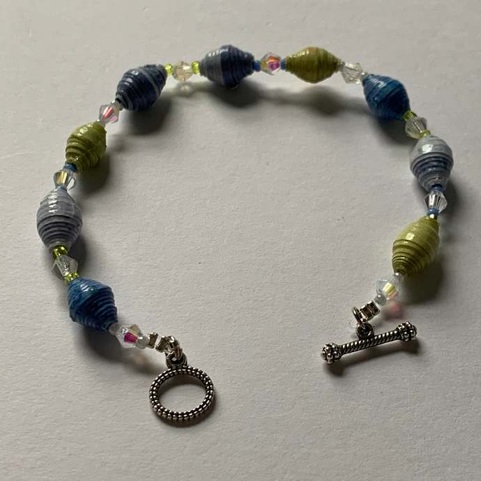 Beaded bracelet, single strand, everyday bracelet 1031