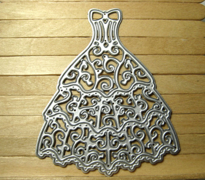 Lacy Dress Metal Cutting Die