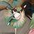 Ballerina Cat Dancer Tilting Folk Art Giclee Print 8x10, 11x14 Cat Lover Gift