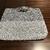 Market Bag, Hand Crochet, Mixed grey and White