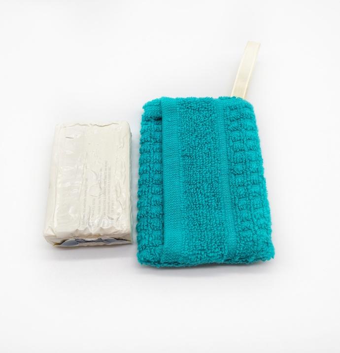 Washcloth Soap Holder, Gift for Seniors, Soap Sack, Nursing Home Gift, Shower