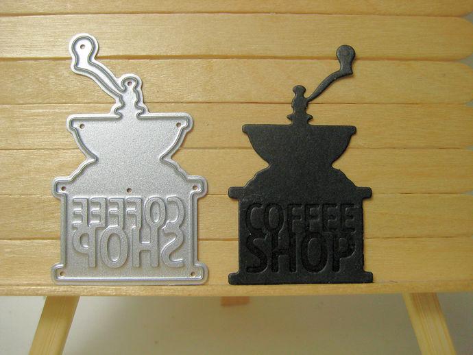 Small Coffee Grinder Cutting Die