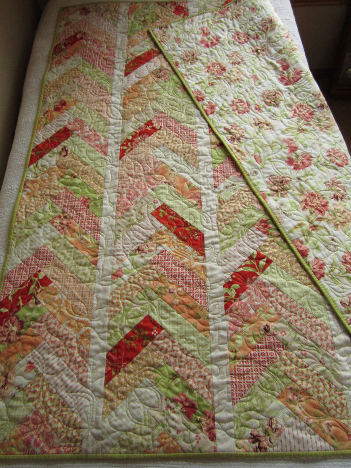 Quilts Homemade Quilt Patchwork Braid Quilt Handmade Throw Home Decor Cotton