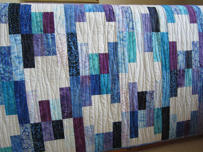 Quilts Homemade Patchwork Quilt Jewel Tones Handmade Gift Batik