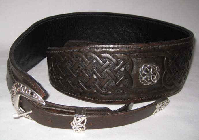 Celtic Knot  Electric Guitar Strap