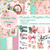 Shabby Chic Christmas PAPERS DIGITAL PRINTABLE PAPER COLLECTION Junk Journal,