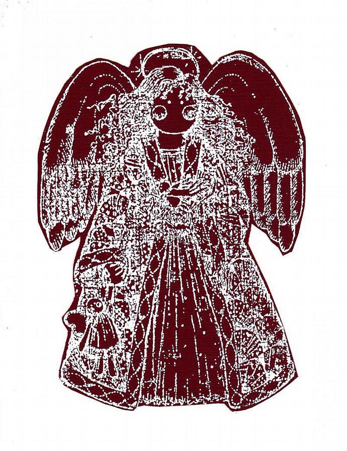 Burgandy Angel