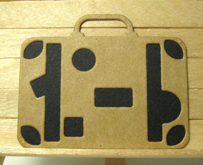 Vintage Suitcase Cutting Die
