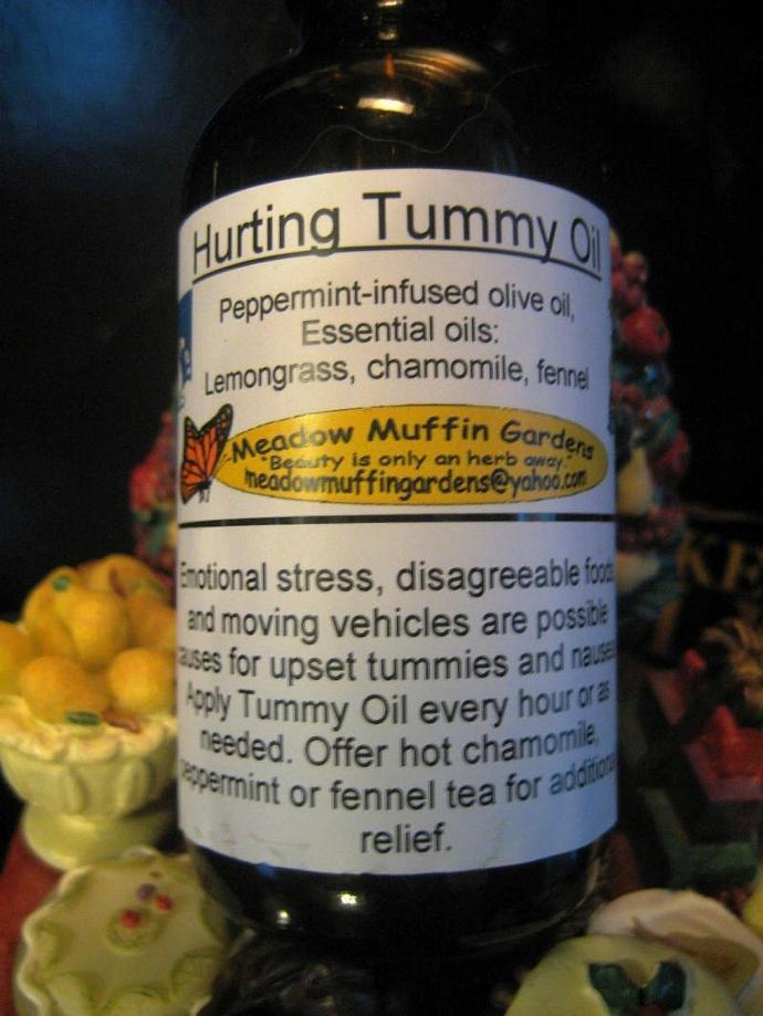 Tummy Ache Massage Oil for Children
