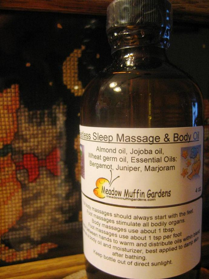 Sleep Aid Massage and Body Oil