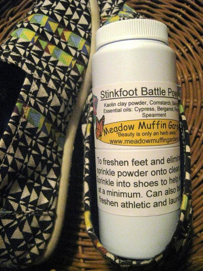 Foot n' Shoe Odor Powder, talc free