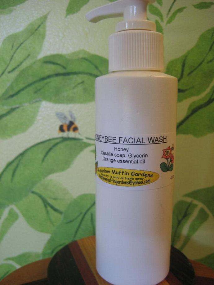 8 oz. size Real Honey n' Glycerin Facial Wash for All Skin Types