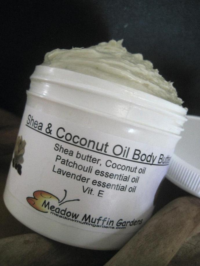 Face or Body Moisturizer, After Shave Balm, Shea Butter, Coconut oil, Patchouli