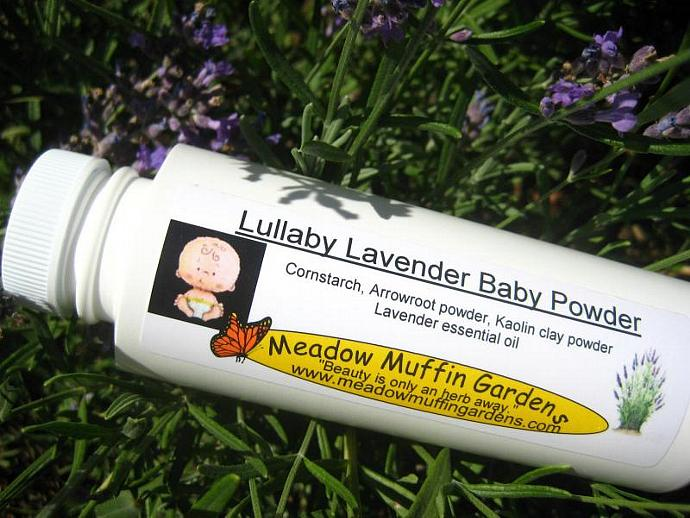 Sweet Lavender Baby Powder, talc free