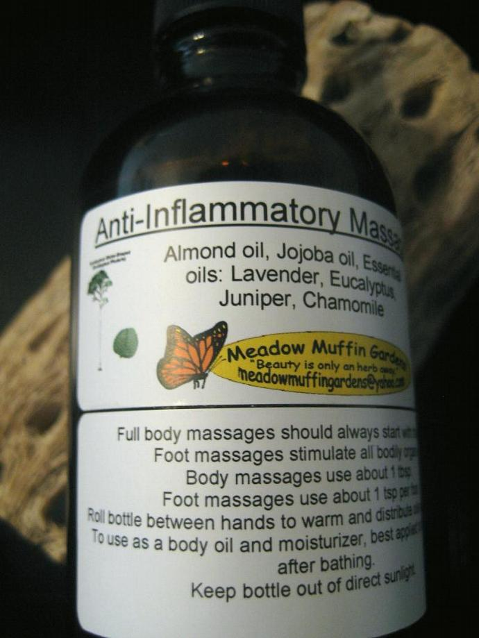 Aches n' Pains Relief Massage & Body Oil, Chronic Pain, Aromatherapy