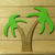 Small Palm Cocoanut Tree Cutting Die