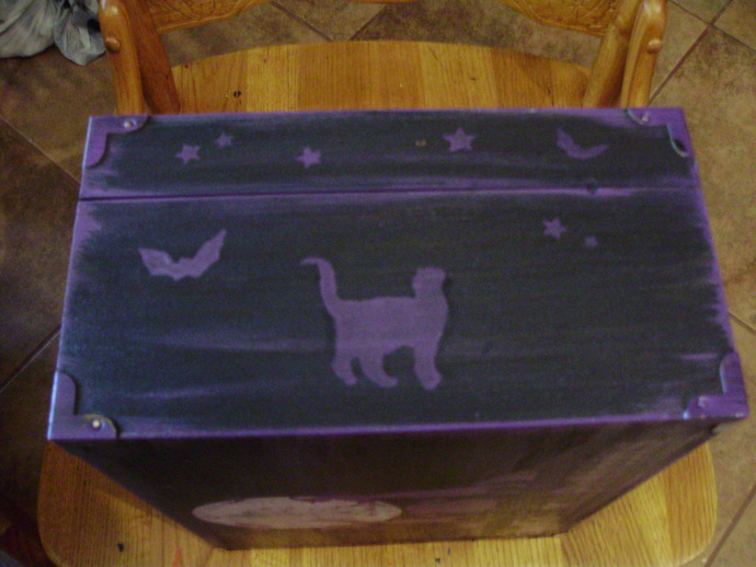 Witchcraft Primitive Witch Spells Potions Purse Box Witches halloween